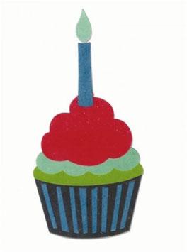 Stanzschablone Sizzix Bigz Die, Cupcake