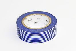 "Masking Tape ""Loris dunkelblau"""