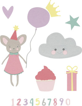 "Sizzix Thinlits Die Set "" Birthday Girl"""