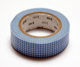 """Masking Tape """"Gitter blau"""""""