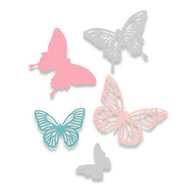 "Sizzix Thinlits ,  Die Set "" Butterflies"""