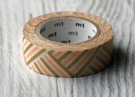 """Masking Tape """"Ecken peach"""""""