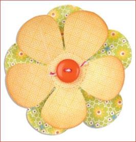 Stanzschablone Sizzix Bigz Die, Flower