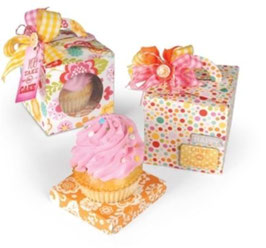 Stanzschablone  Sizzix Bigz XL Die - Box, Cupcake