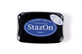 StazOn-Stempelkissen azurblau