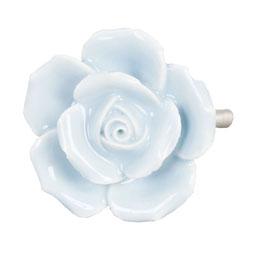 Möbelknopf Rose veilchen 61875