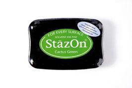 StazOn-Stempelkissen kaktusgrün