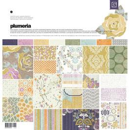 Plumeria Element mit Stickers