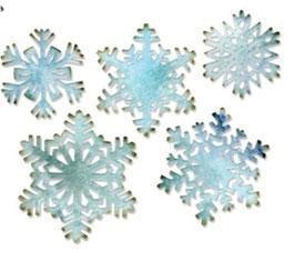 """Sizzix Thinlits Die, """"Paper Snowflakes"""""""