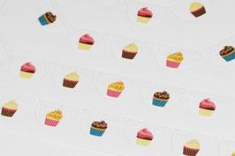 Girlande Cupcakes