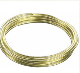 Aludraht 2mm 3m gold