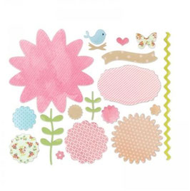 Sizzix Thinlits Die Set 18Teile - Secret Garden