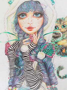 Little lost like Alice & Cheshire cat