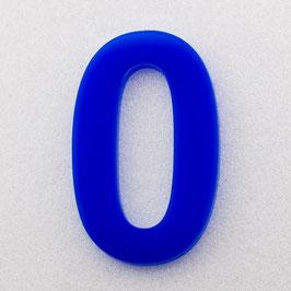 Hausnummer 10 cm Blau RAL: 5H01