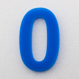 Hausnummer 35 cm Himmelblau RAL: 5H51