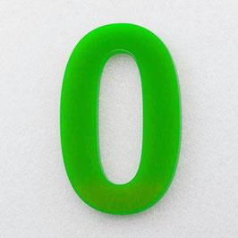 Hausnummer 10 cm Hellgrün RAL: 6H02