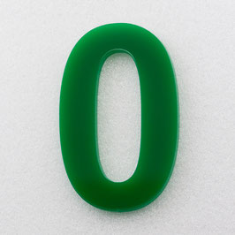 Hausnummer 10 cm Grün RAL: 6H01
