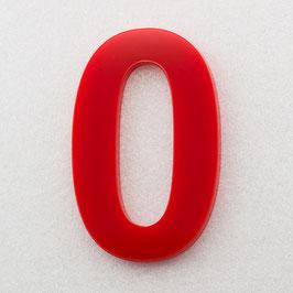 Hausnummer 10 cm Rot RAL: 3H01