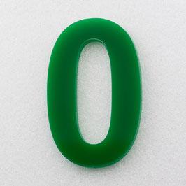 Hausnummer 35 cm Grün RAL: 6H01