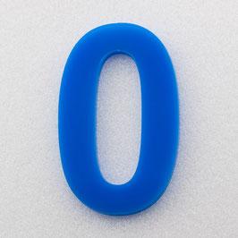 Hausnummer 10 cm Himmelblau RAL: 5H51