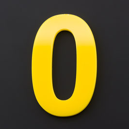 Hausnummer 55 cm Gelb RAL: 1H01