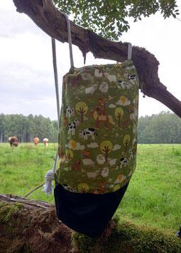 Kuuhle Turnbeutel aus Baumwolle in verschiedenen Kuuhle Motiven