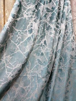 Ткань Мрамор бирюзовый.