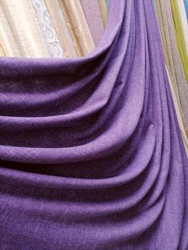 Лён-Рогожка фиолетовый.