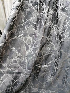 Ткань Мрамор серый.