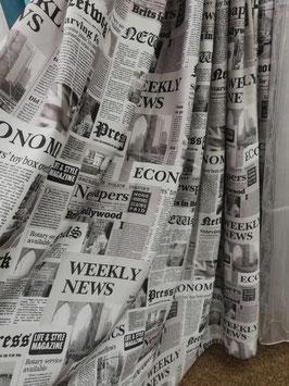 Газета  (серая).