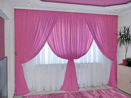 Вероника розовые.