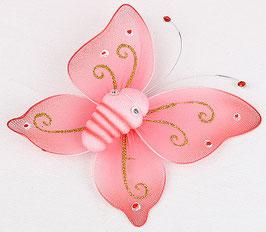 Бабочка (розовая).