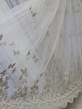 Сетка-бабочки (бежевые).