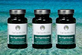 telomit® Bio-Algenkapseln 3er-Set