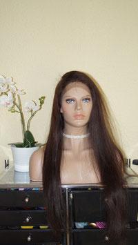 Full Lace Wig,  Echthaarperücke  volle spitze 75cm