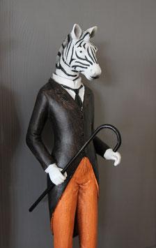 De heer Zebra