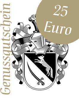 Genussgutschein 25 Euro