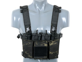 8Fields Buckle Up Chest Rig Multicam Black