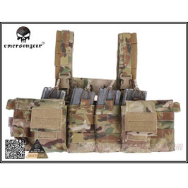 Emerson Easy Chest Rig Multicam