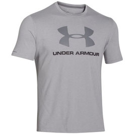 Under Armour Sportstyle Logo Shirt Grey