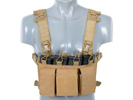 8Fields Buckle Up Chest Rig Coyote