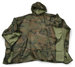 Patton Poncho Woodland