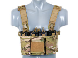 8Fields Buckle Up Chest Rig Multicam