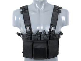 8Fields Buckle Up Chest Rig Black