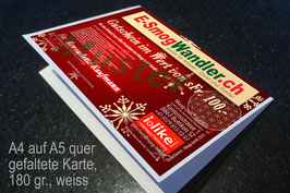 """Gutschein für i-like Produkte """"Weihnachten""""."""