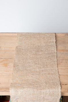 Toile de jute - Chemin de table 3 m