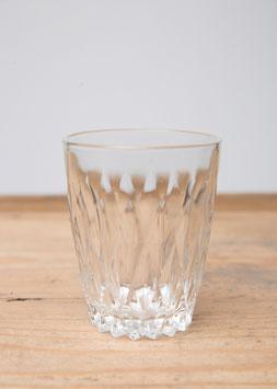 Verre à eau dépareillés