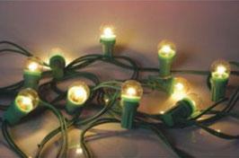 """Guirlande """"Guinguette"""" - 10 m - 40 ampoules transparentes"""