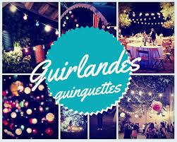 Guirlande champêtre - 8m50 - 10 ampoules couleurs
