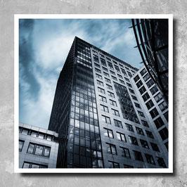 Art Print - Bankgebäude
